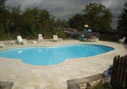 Guest Gite Complex with Pool and Open Views