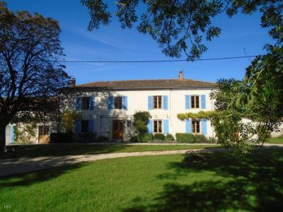 House With 3 Hectares, Woodland and River Frontage